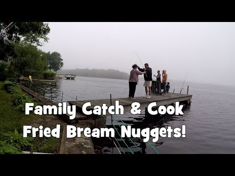 FAMILY CATCH & COOK!!! Freshwater Edition: FRIED BREAM NUGGETS!!! (South Kingstown, RI)