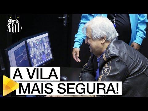 Santos FC inaugura novo Centro de Operações