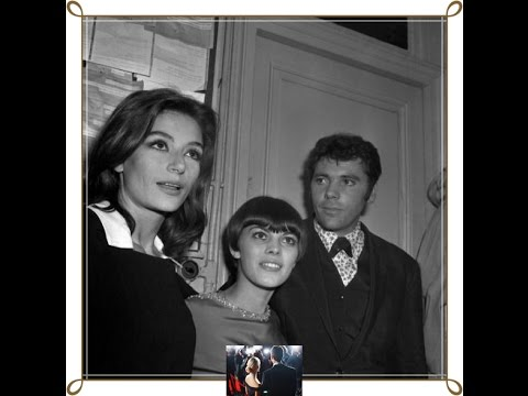 Anouk Aimée and family photos with friends and relatives
