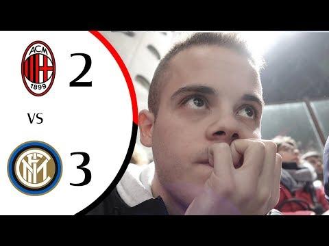 INCUBO. - MILAN 2-3 INTER | LIVE REACTION GOL SAN SIRO HD