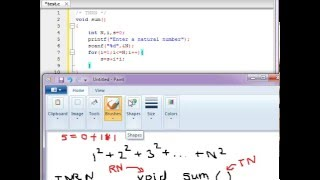 function to calculate sum of squares of n natural numbers in c language