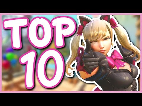 Overwatch - TOP 10 BEST NEW SKINS (Cosmetic Update Skins)