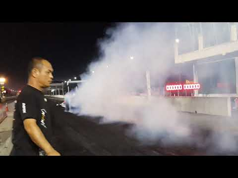 Dragster by aor77shop 7.010sec. 60f1.211 320km/h Test run 22/11/2561