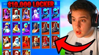 OVAKO IZGLEDA MOJ FORTNITE LOCKER! *$10.000*