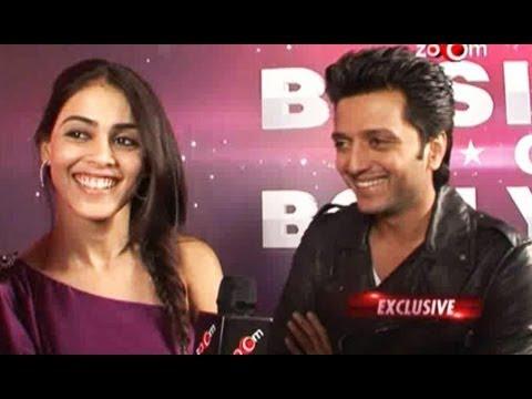 Riteish Deshmukh and Genelia D'Souza get candid on zo0m