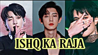 Kpop ft Bollywood song 🎶 ishq ka raja💜BTS , EXO, GOT7 , IKON , WINNER✨Korean mix