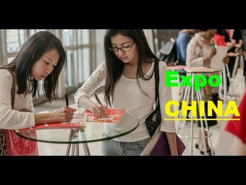 COSAS EXTRAÑAS EN EXPO CIHAC MEXICO 2017, ZONA CHINA