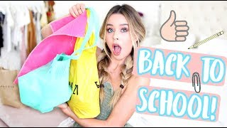 BACK TO SCHOOL CLOTHING HAUL 2017!