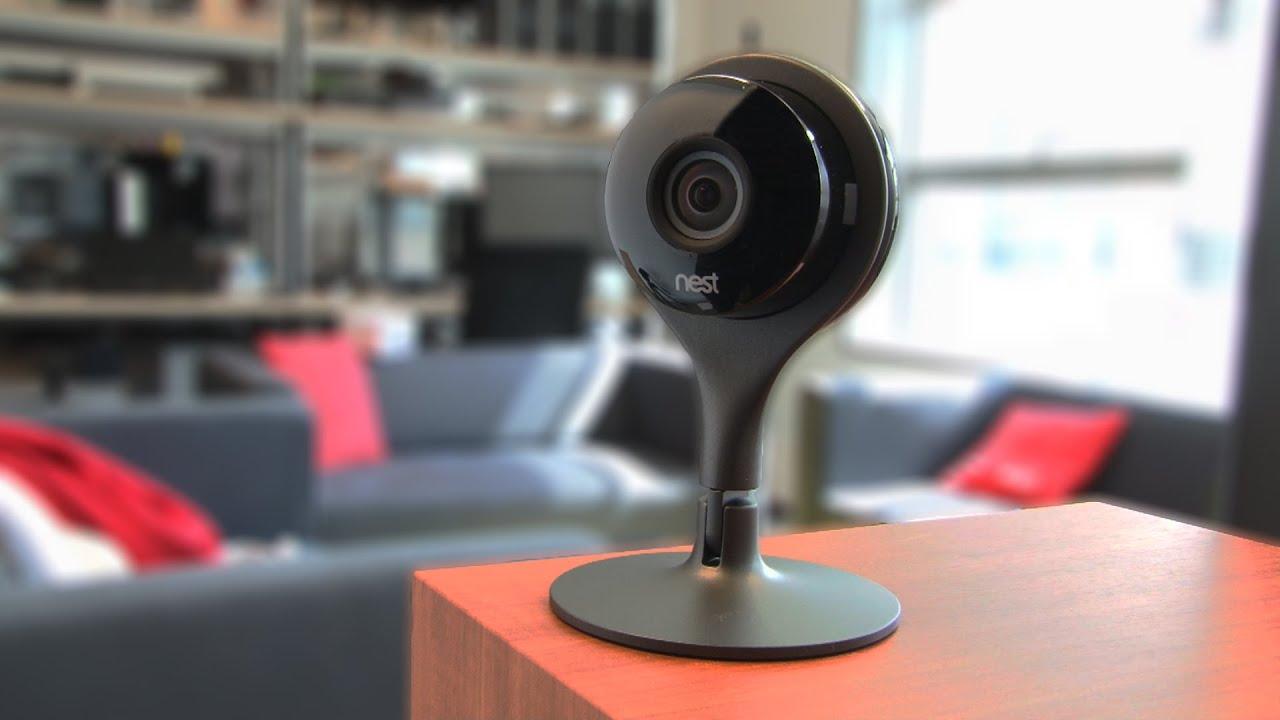 test nest cam la cam ra de surveillance par excellence doovi. Black Bedroom Furniture Sets. Home Design Ideas