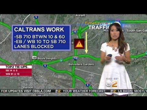 Jennifer Kim - CBS2 Los Angeles HD 03/18/2016