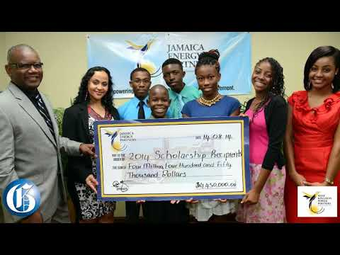 SCHOLARSHIPS TO GO Jamaica Energy Partners Fueling Education