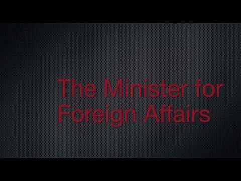 Foreign Affairs (Sample Lyric Video)