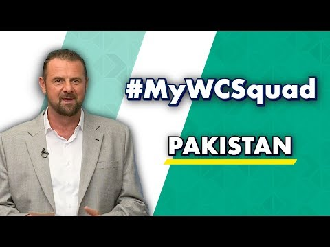 Simon Doull's #MyWCSquad - Pakistan