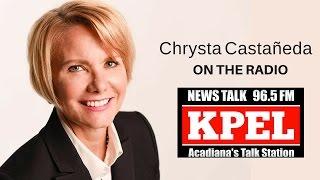 LIVE on the radio in Louisiana | Chrysta Castañeda