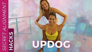 How to Do Upward Facing Dog Yoga Pose | Secret Alignment Hacks