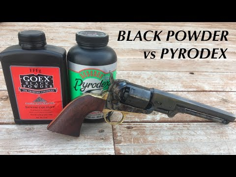 Black Powder vs. Pyrodex