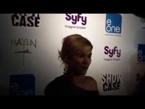Haven star Emily Rose on the Red Carpet