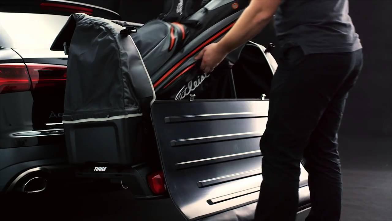coffre de transport thule backspace 917 1 300 l disponible sur youtube. Black Bedroom Furniture Sets. Home Design Ideas