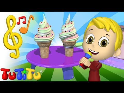 Songs & Karaoke for Children | Ice Cream | TuTiTu Songs