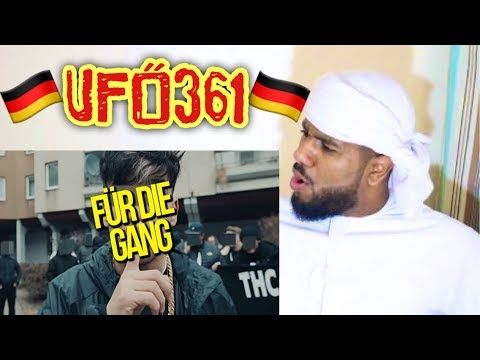 ARAB REACTING TO GERMAN RAP BY Ufo361 feat. Gzuz -
