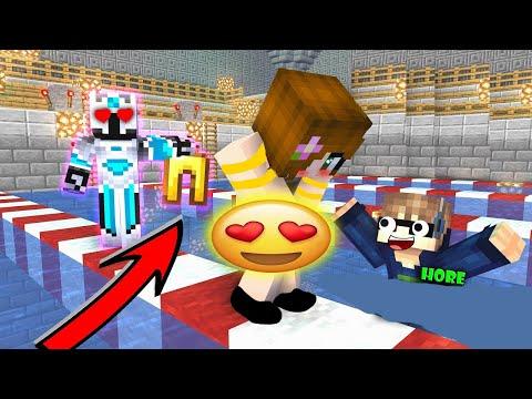 ANIMASI FROST DIAMOND JAILIN CEWEK DI KOLAM RENANG ( THE MOVIE )   - Minecraft Animation