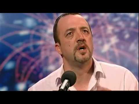 JAMIE PUGH THE VAN DRIVERPIZZA DELIVERY GUY BRITAINS GOT TALENT 2009 HD