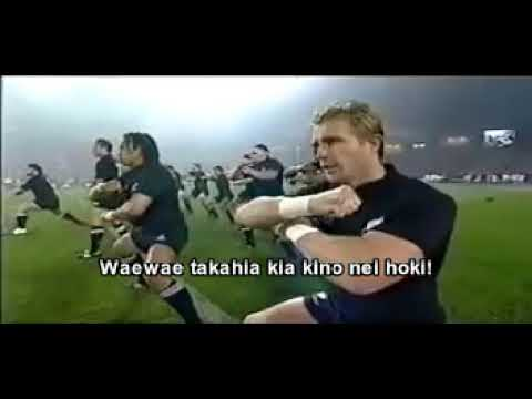 New Zeland All Blacks Haka - Ka Mate + Lyrics + Translation