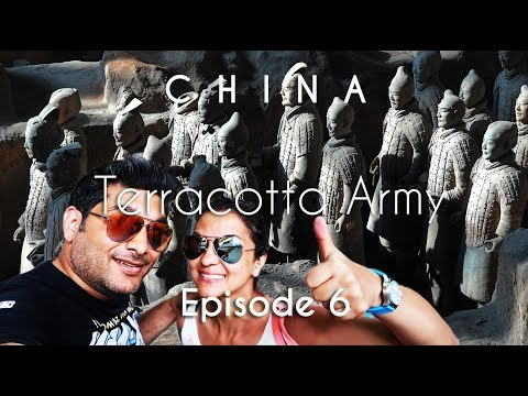 China Travel Guide | Terracotta Army & Flight to Shanghai | X'ian | Vacation Episode - 6/12