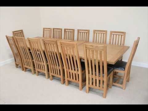 14 Seater Dining Table Uk Design Youtube