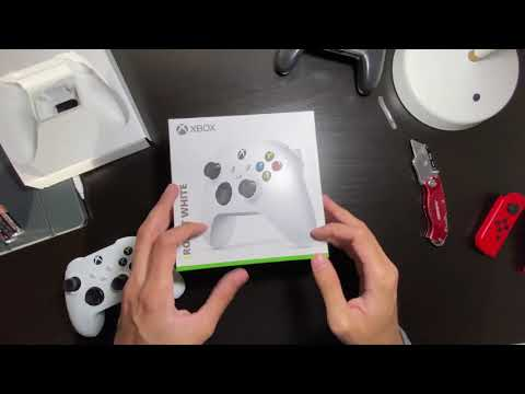 Xbox Series X/Xbox Series S controller unboxing