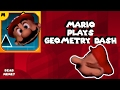 Mario plays Geometry Dash