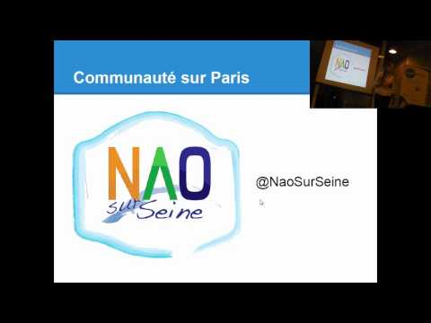 Introduction au robot Nao par Blandine Bourgois