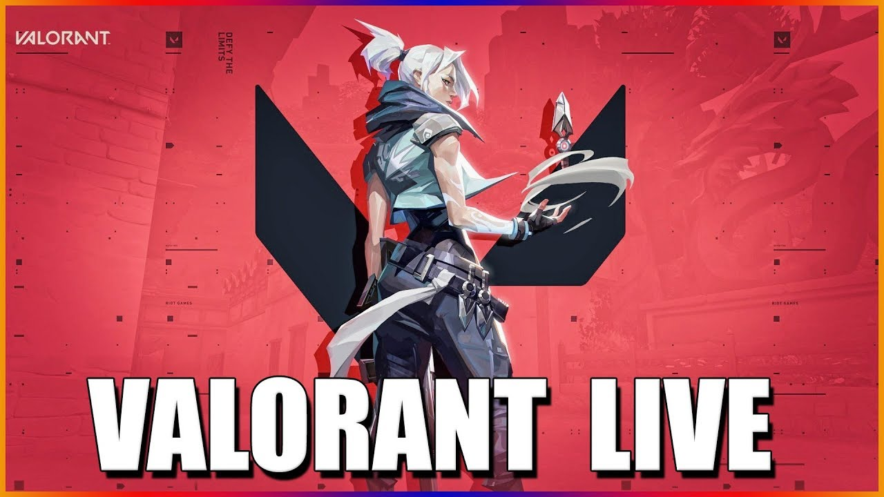 No drops here, but pro gameplay pog - Valorant Beta Livestream