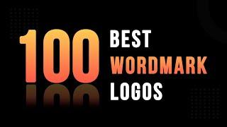 100 Best Wordmark Logo Design | Creative Logotype Design | Lettermark Logo | Adobe Creative Cloud