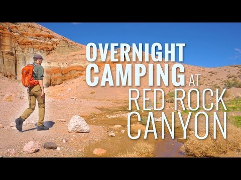 Red Rock Canyon in 4K | Overnight Camping and Hiking near Los Angeles
