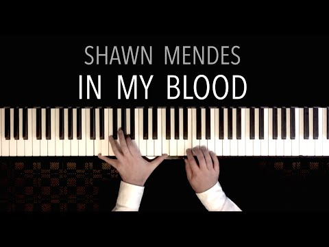 Shawn Mendes - In My Blood featuring Pachelbel&39;s Canon  Piano Cover