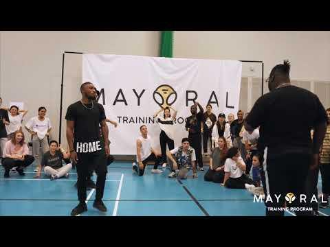 HomeBros Ft JFunk | Afro Dance Choreography | Mayoral Training Camp