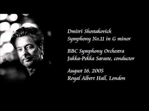 Shostakovich: Symphony No.11 in G minor - Saraste / BBC Symphony Orchestra