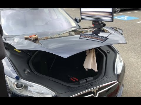 TESLA Model S ⚡️In-Depth Dent Repair| WoW! #PDR #Tesla