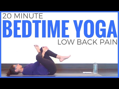 20 Minute Gentle Yoga for Low Back Pain