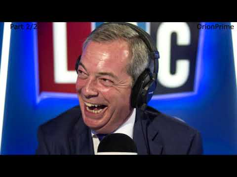 The Nigel Farage Show On Sunday: Walk away from Brexit negotiations? 2/2 LBC - 1st October 2017