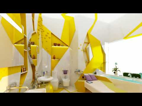 ★ TOP 40+ ★ Yellow And White Bathroom Decorating Ideas