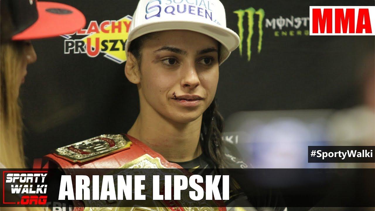 KSW 42: Ariane Lipski wypunktowała Silvanę Gomez Juarez