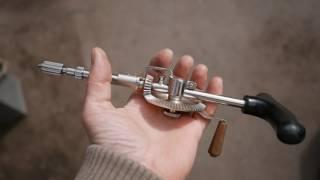 видео Коловороты и ручные дрели механические