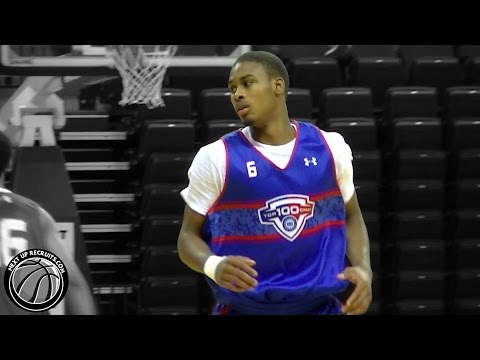 Seventh Woods is a SUPER Athletic guard - NBPA Top 100 Camp - 2016 Top THIRTY prospect