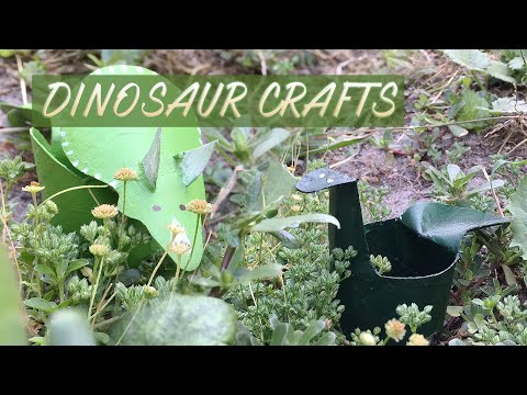 Dinosaur Crafts to Try w/ Your Kids!