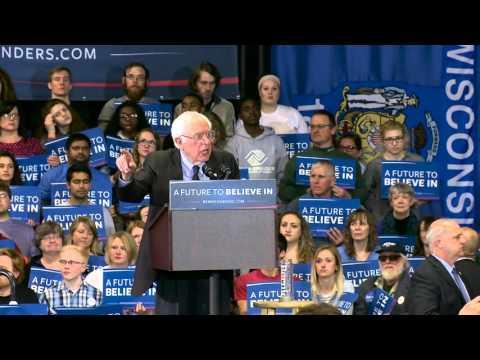 Wisconsin, Please Vote on Tuesday | Bernie Sanders