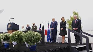 President Trump and the First Lady Visit the Flight 93 National Memorial - 9/11/2020