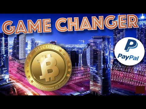 BREAKING NEWS: PAYPAL TO LIST BITCOIN and 3 OTHER CURRENCIES TO ITS 346 MILLION USERS in Q1 2021