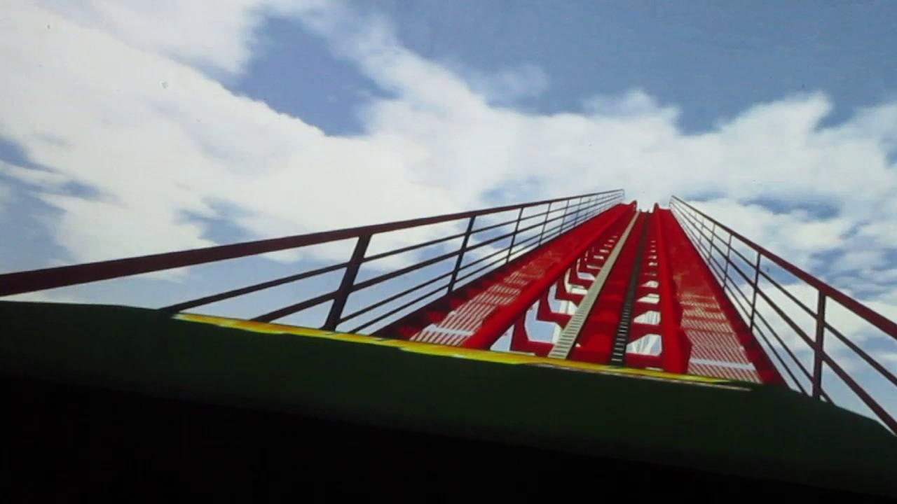 Max Flight Roller Coaster Simulator Safari Land Villa Park, IL 1-11-17